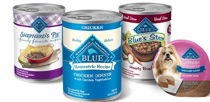 BLUE Buffalo's Wet Food