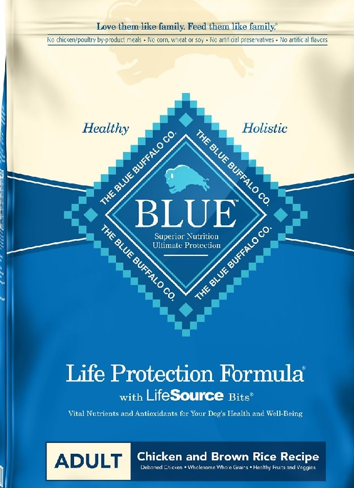 Blue Buffalo Life Protection Formula.