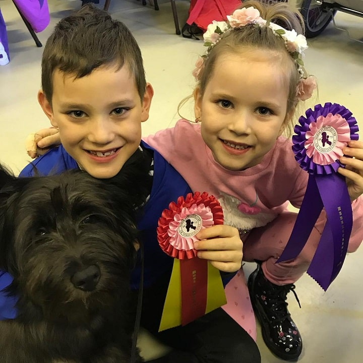 Skye Terrier is child friendly