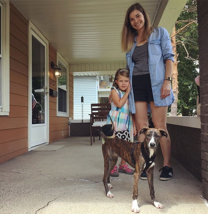 Treeing Tennesse Brindle is child-friendly