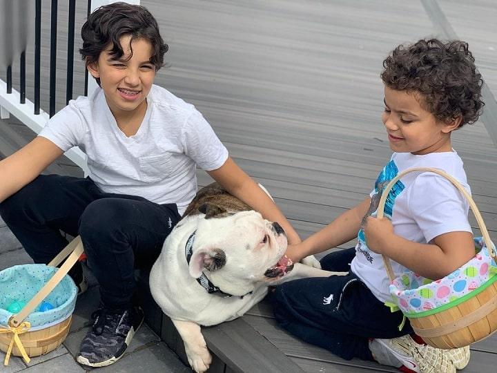 Victorian Bulldog is child friendly